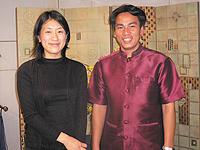 木野本さんとハダンさん