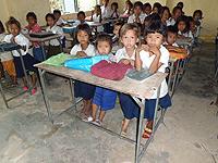 教室の子供達