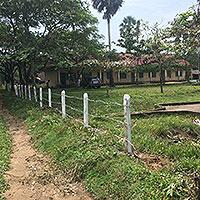2校目悲願の校門建設に着手5
