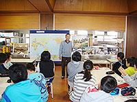 中之島中央小学校で出前授業2